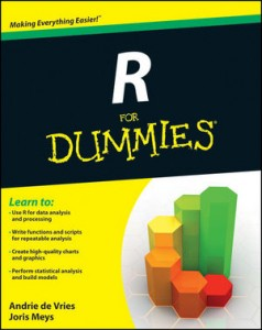 R for Dummies – De Vries and Meys (2012)